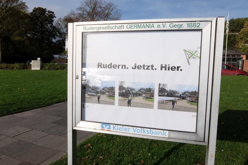 Gemeinsames Abrudern der Kieler Rudervereine am 27. Oktober 2019