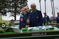 Gemeinsames Anrudern der Kieler Rudervereine mit Bootstaufe am 26. April 2015