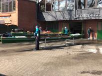 Gemeinsames Anrudern der Kieler Rudervereine am 2. April 2017