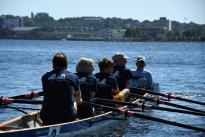 "Benefiz-Regatta \""Rudern gegen Krebs\"" am 7. Juli 2018 in Kiel"