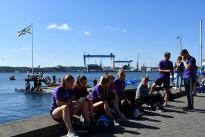 "Benefiz-Regatta ""Rudern gegen Krebs"" am 7. Juli 2018 in Kiel"