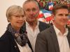 """Scheckübergabe """"Rudern gegen Krebs"""" bei Gesundheitsminister Dr. Heiner Garg am 3. Dez. 2019"""