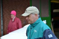 Bootsdienst bei der Rudergesellschaft Germania Kiel am 14. Nov. 2015