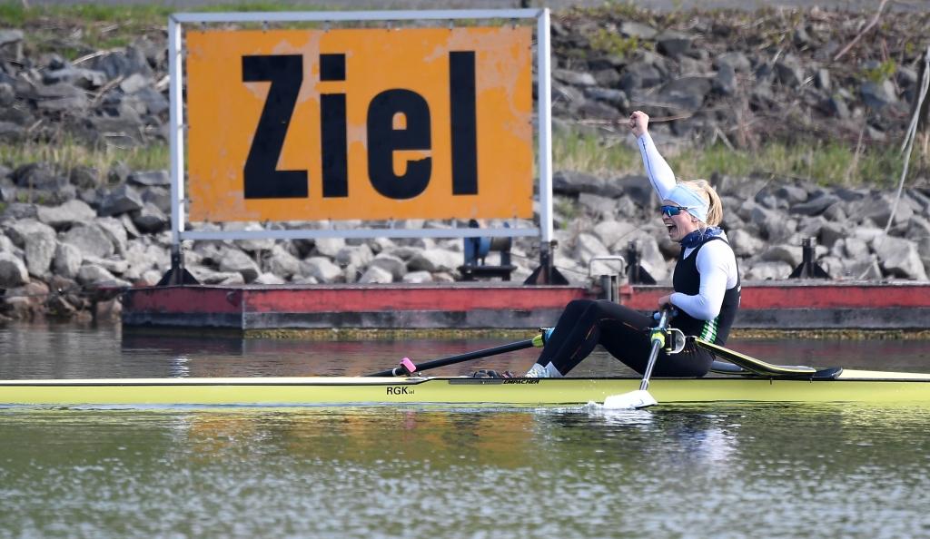 Deutsche Kleinbootmeisterschaften vom 12. bis 14. April 2019 auf dem Fühlinger See in Köln