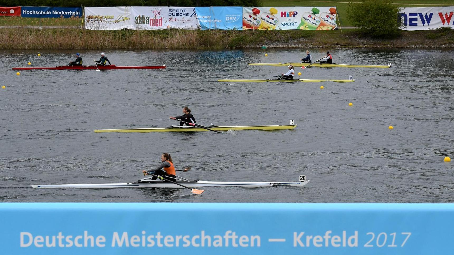 Deutsche Kleinbootmeisterschaften 21. bis 23. April 2017 in Krefeld