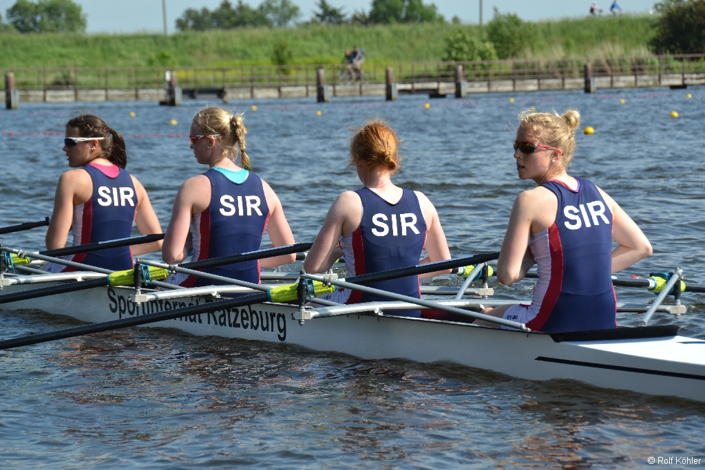 Int. DRV-Junioren-Regatta vom 5. bis 7. Juni 2015 in Hamburg