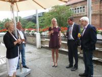 Empfang Rathaus Junioren-Weltmeisterin 2015 Frieda Hämmerling 18. August 2015