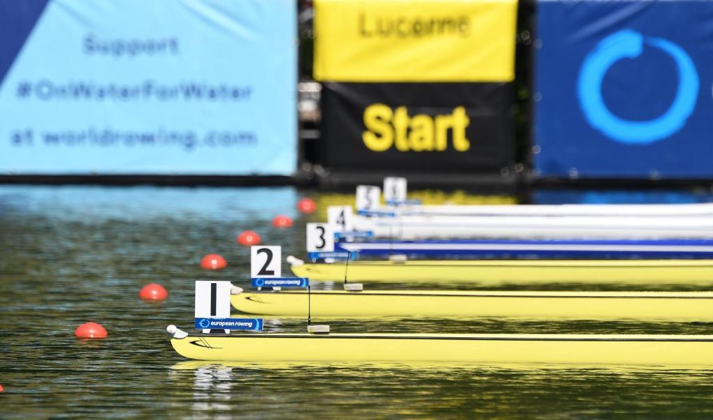 Rudereuropameisterschaften vom 31. Mai bis 2. Juni 2019 in Luzern (Schweiz)
