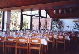 Restaurant im Clubhaus der RG Germania Kiel