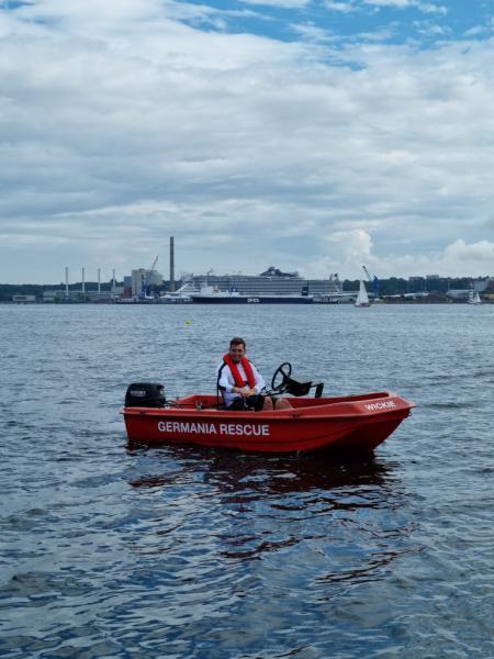 Interne Regatta Rudergesellschaft Germania Kiel am 7. Aug. 2021