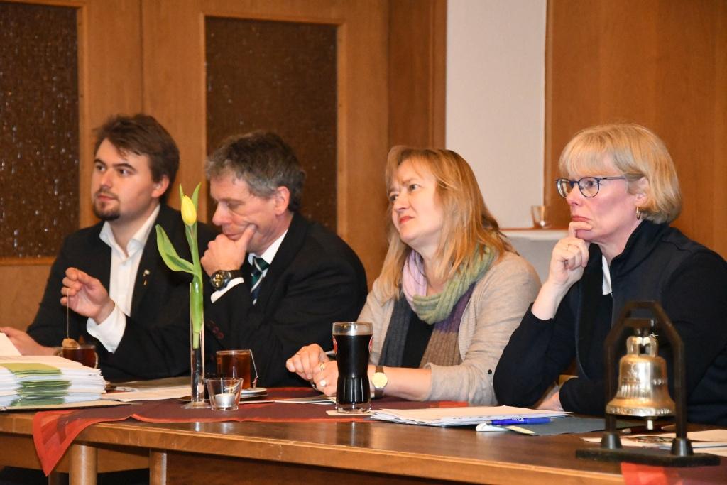 Jahreshauptversammlung der Rudergesellschaft Germania Kiel am 21. Feb. 2018