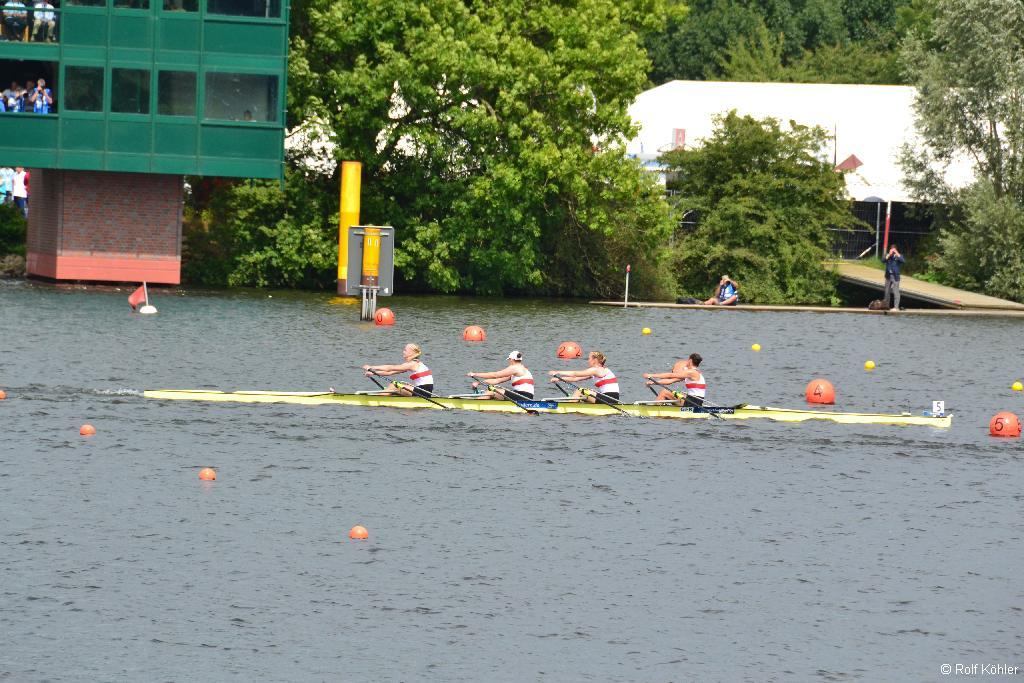 Junioren-Weltmeisterschaften 6. bis 10. August 2014 in Hamburg