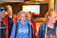Empfang SH-Team Junioren-WM 2015 am 11. August 2015 Flughafen Hamburg