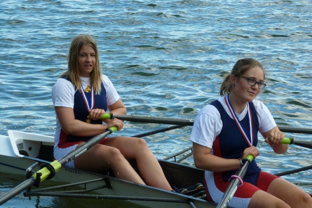 Landesmeisterschaft im Doppelzweier für Lisa Marie Wieland bei der Segeberger Ruder-Regatta am 14./15. Juni 2014