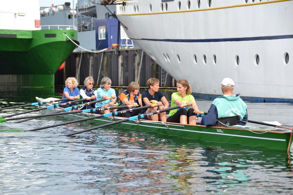Rudern lernen bei der Rudergesellschaft Germania Kiel