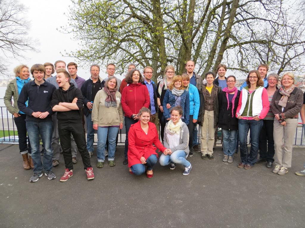 Teilnehmer des Steuerleute-Lehrgangs 2013