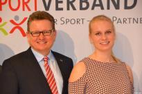 Verleihung des Peter-Petersen-Preises im Haus des Sports an Frieda Hämmerling am 23. Jan. 2017