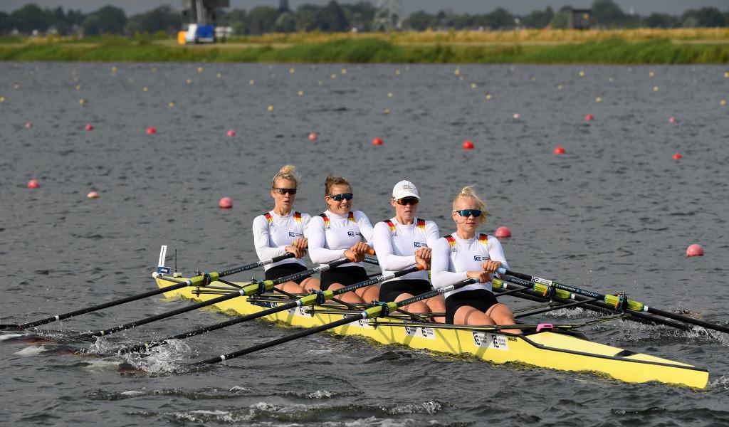 Frauen-Doppelvierer - Weltcup-Finale vom 12. bis 14. Juli 2019 in Rotterdam (Niederlande)