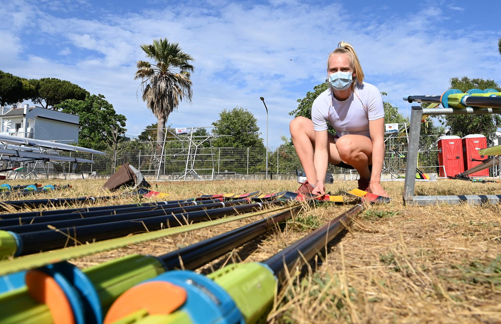 Frieda Hämmerling beim Weltcup III in Sabaudia (Italien) vom 4. bis 6. Juni 2021