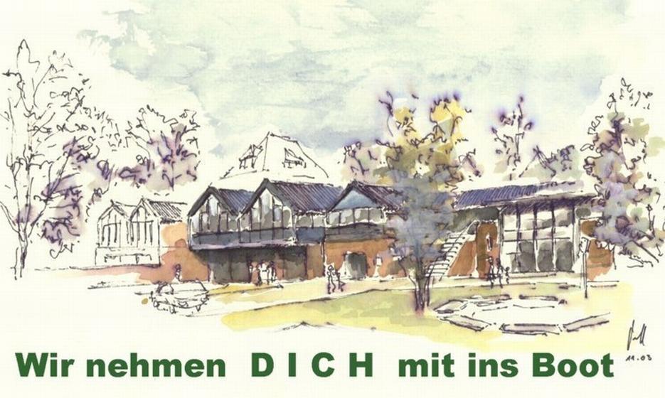 Bootshaus der Rudergesellschaft Germania Kiel